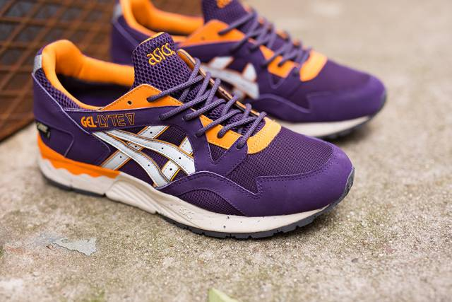 asics gel lyte v gore-texpurple soft grey