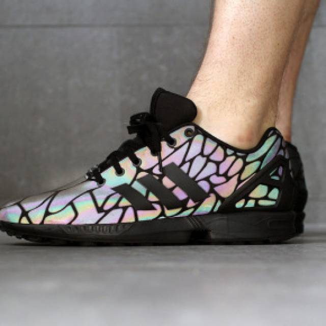 Adidas Zx Flux Reflective Snake
