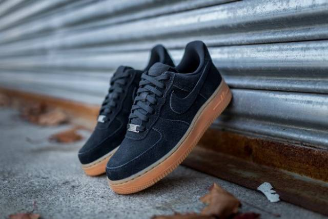 Nike Air Force 1 07 Suede Blue