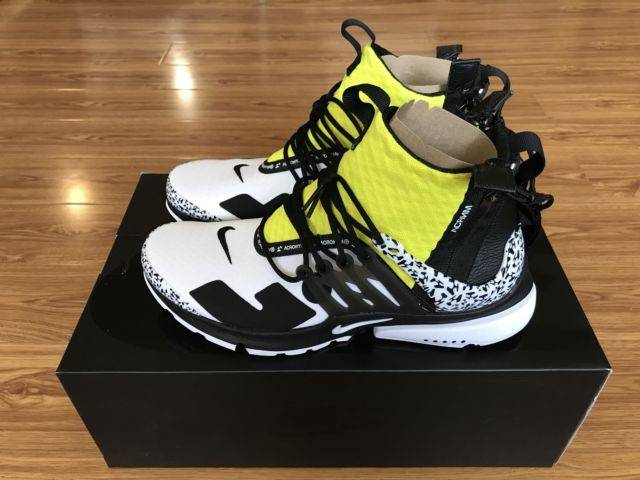 best service ba38c 86345 Nike Air Presto Mid Acronym Dynamic Yellow