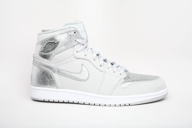 cddd3ed5014 Nike Air Jordan 1 23 ANNIVERSARY 396099-001 Silver Suitcase