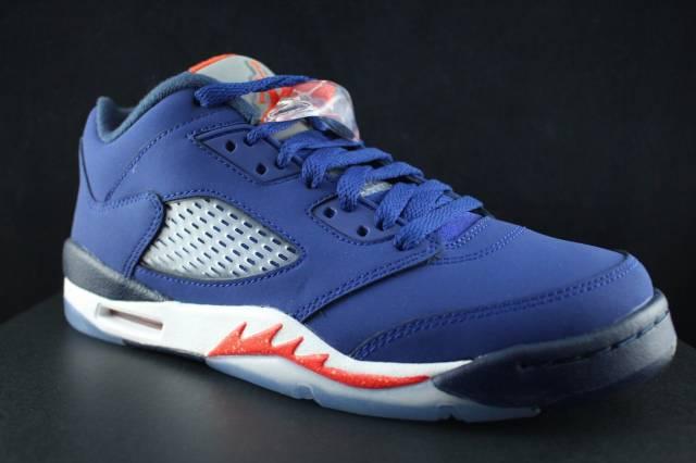 Air Jordan Retro V 5 Knicks Deep Royal Blue Grape Oreo CNY ...