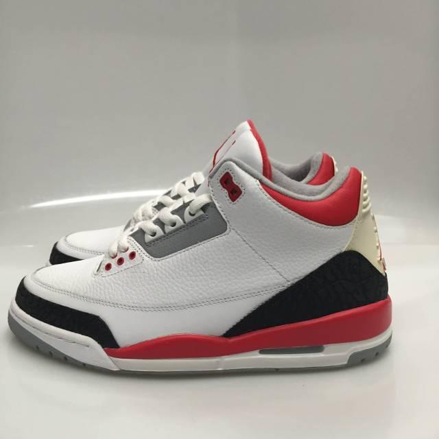 Air Jordan 3 Fuego Rojo Tamaño 8.5 visita barato 9yE9UIy