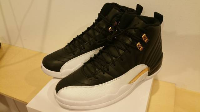 brand new 61d1a c5b03 ... new arrivals nike air jordan retro 12 wings limited edition black white  b4e17 53cc4