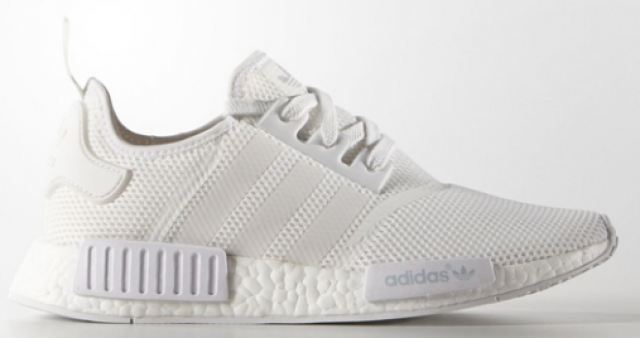 fb384202c adidas NMD All White Monochrome Mesh size 11.5 and 10.5