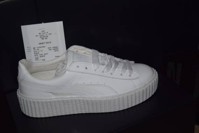 the latest 78692 5905d Puma Fenty Creepers White wearpointwindfarm.co.uk