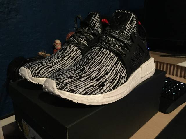 Adidas NMD XR1 Black Camo Unboxing Review