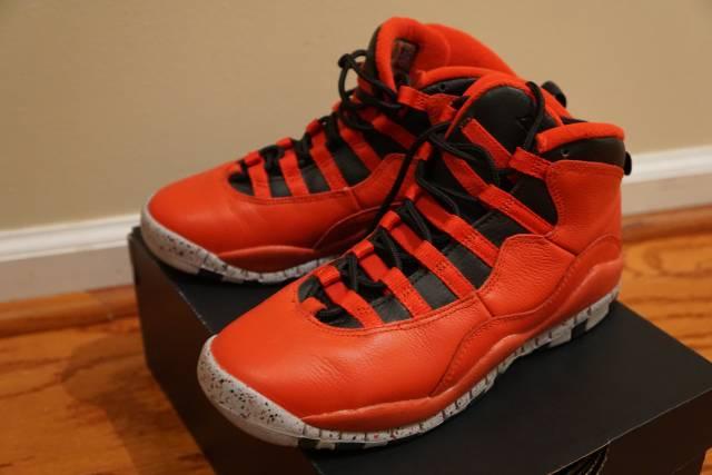 b1fee0544cbf5b Air Jordan 10 Retro Gym Reds GS 5