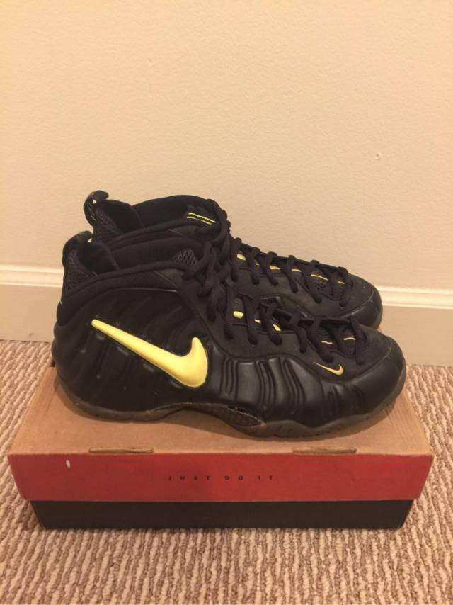 27f78c89b85 EXTREMELY RARE 1997 Nike Air Foamposite Pro Volt Size 11