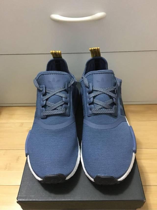 9ab68fce8 Adidas NMD R 1 Blue Yellow White Reflective Women 7-8.5US