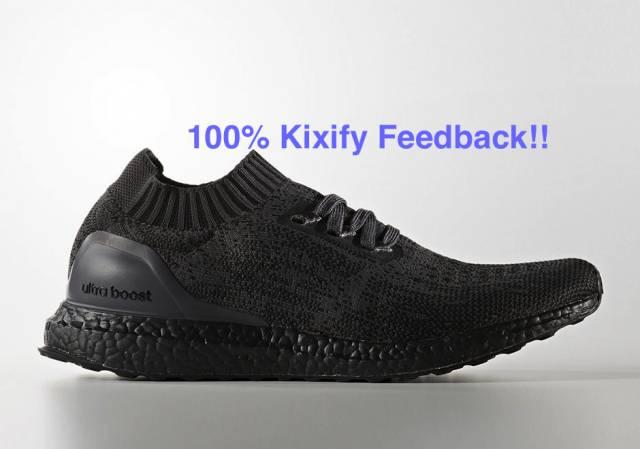 Adidas Ultra Boost Uncaged Triple black BA7996