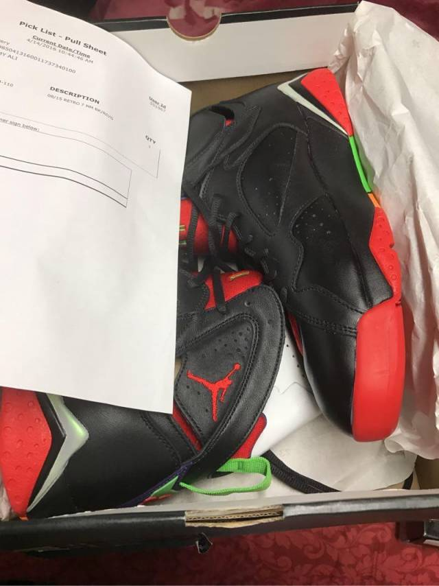 info for 09f0a 422a3 Jordan Retro 7 Martian Black And Red