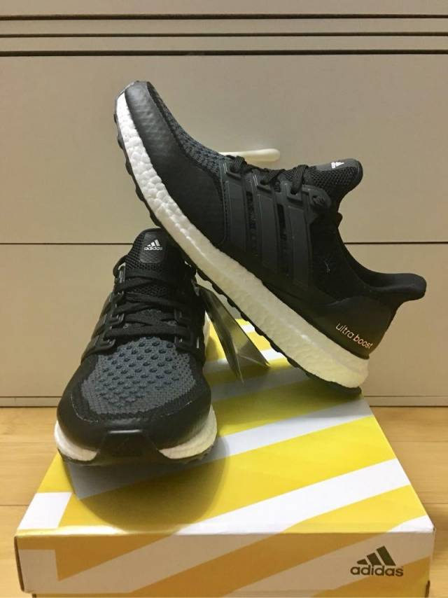 734d3f7e3 Adidas Ultra Boost ATR 2.0 Black Grey RARE  Men 6.5-8.5US