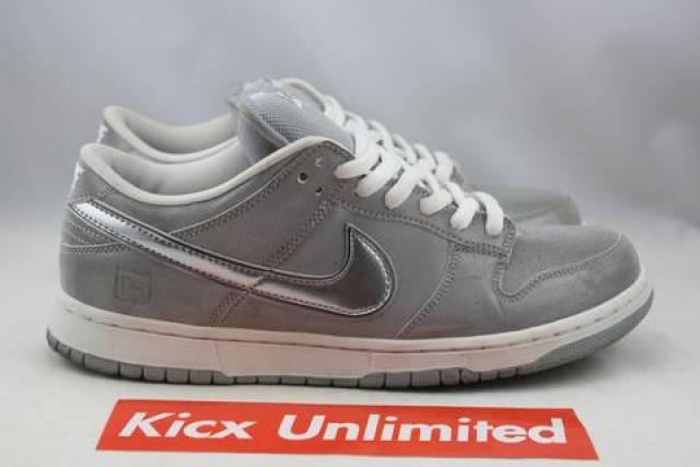 new style 29462 6f1ab Nike Dunk Low Pro Sb Metacom 3m Sz 10.5 Grey 304292-008