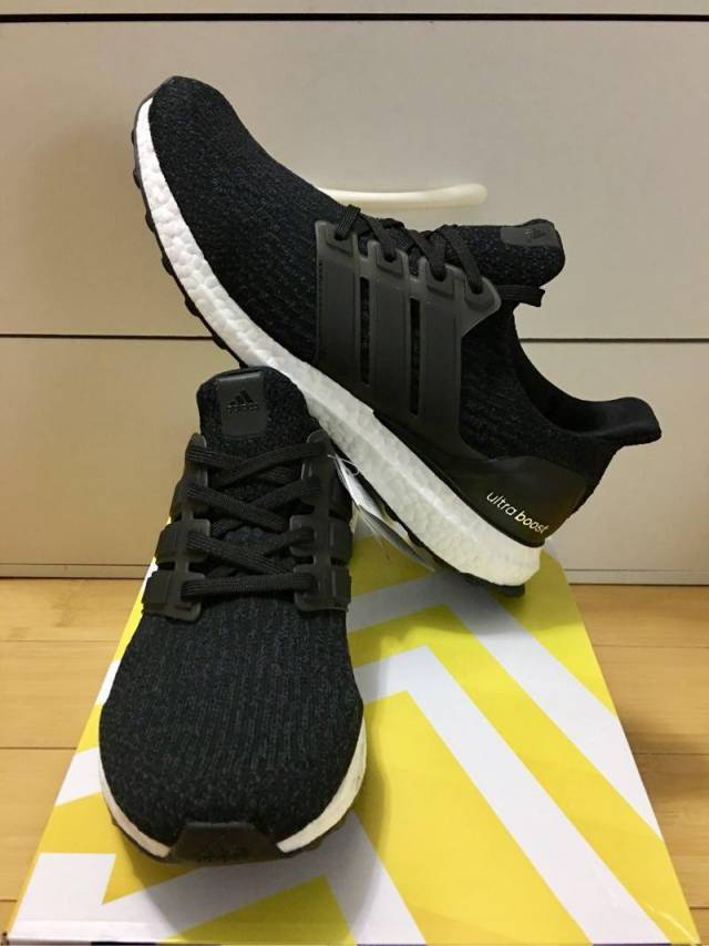 half off ff8f4 3e7ed Adidas Ultra Boost 3.0 LTD PK Core Black White Men 8.5US
