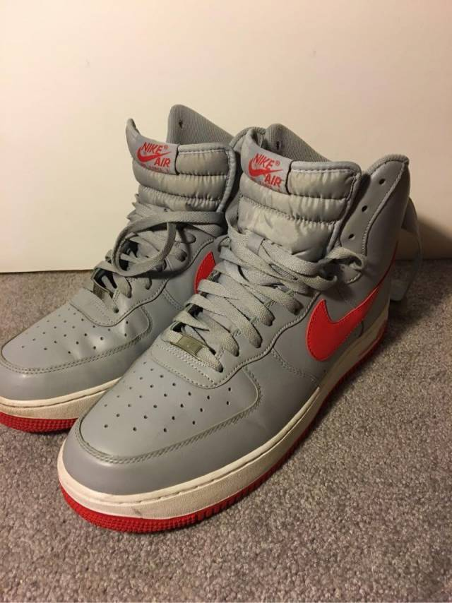 nike air force high size 13