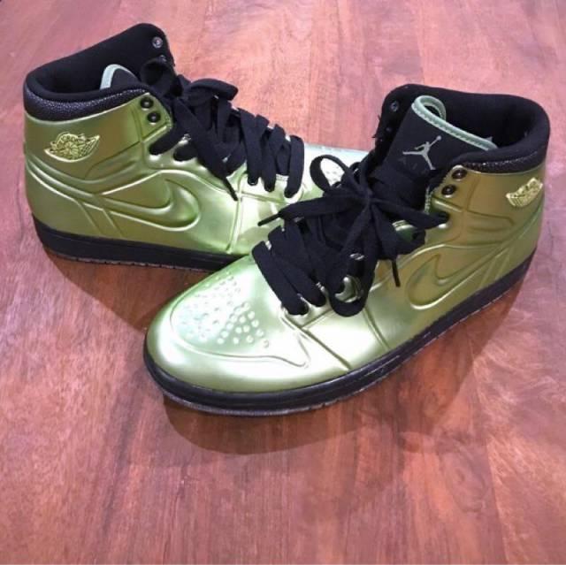 new style 6e1d6 67f8e Nike Air Jordan 1 Anodized Green Size 10.5 Men s