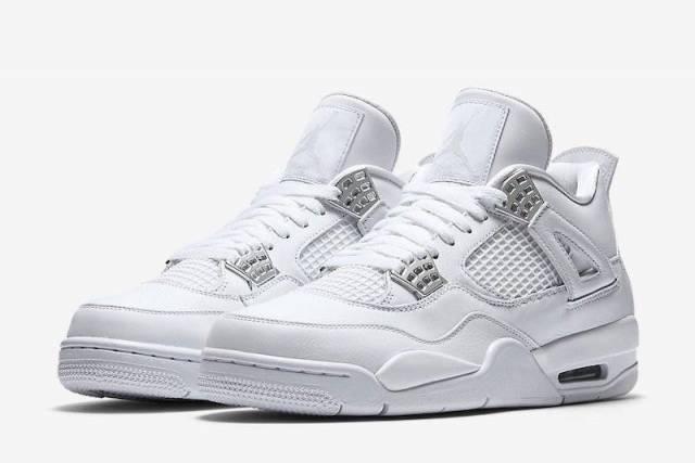 jordans 4 retro white