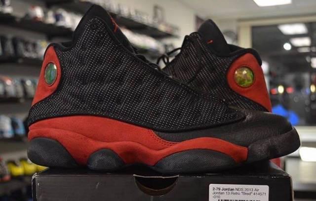 Jordan 13 bred size 9.5 pre owned