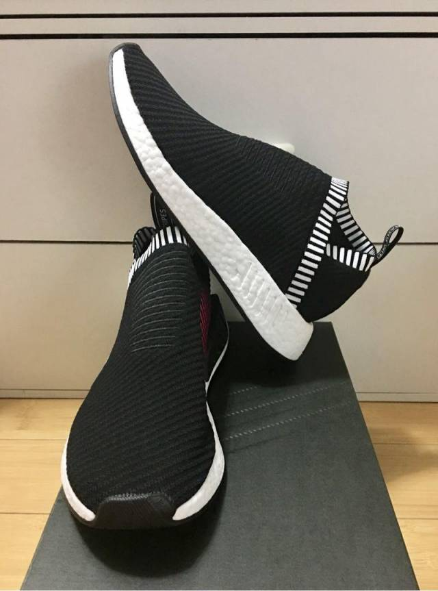 best website c2dbe e7c0a Adidas Nmd City Sock 2 Primeknit Black Shock Pink