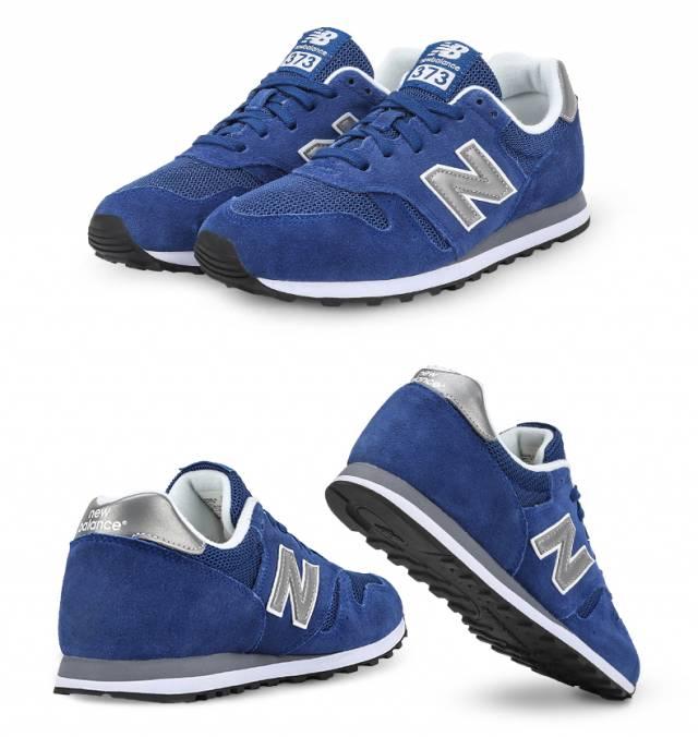 new balance 373 blu