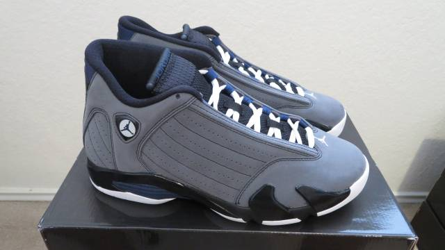 dcee863278cf Air Jordan retro 14 light graphite (2011)