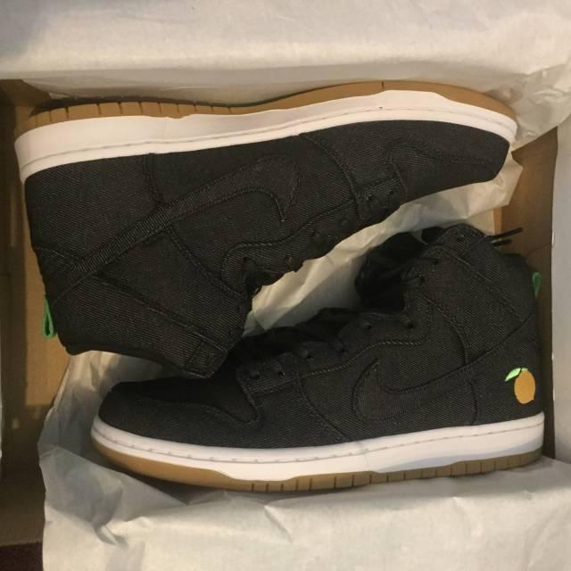 meet ecad6 d1a49 Nike Sb Dunk High Momofuku Size 10