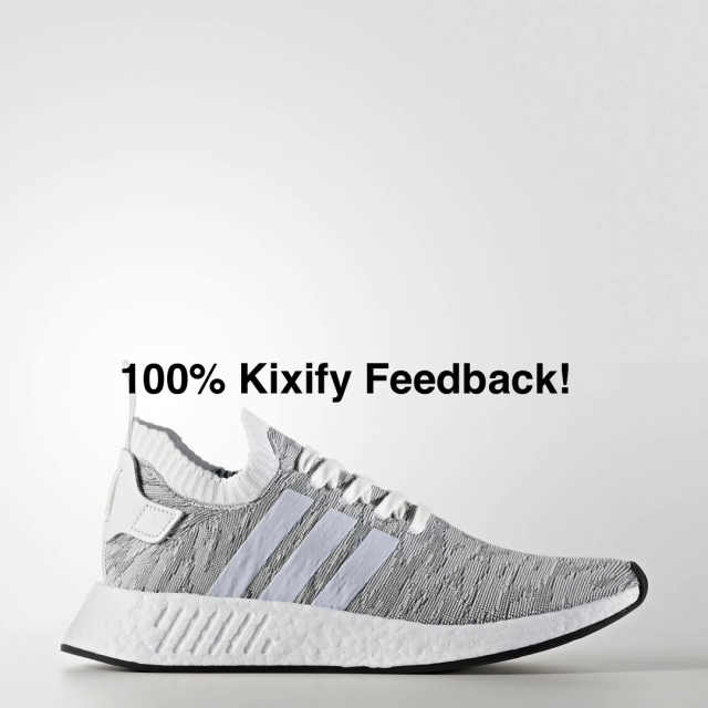 Adidas Nmd R2 White Red Free Shipping Kixify Marketplace