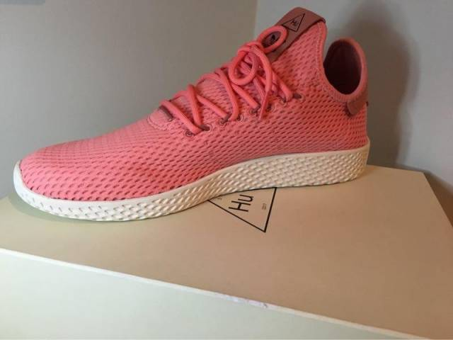 09700e766 Adidas Pharrell Williams Tennis HU Tactile Rose   Raw Pink