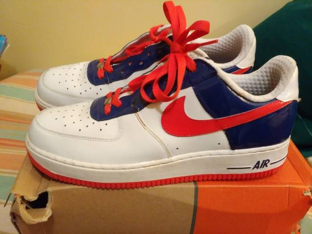 buy popular b03a6 9e0c9 Nike Air Force 1 one Premium World Cup South Korea Size 11