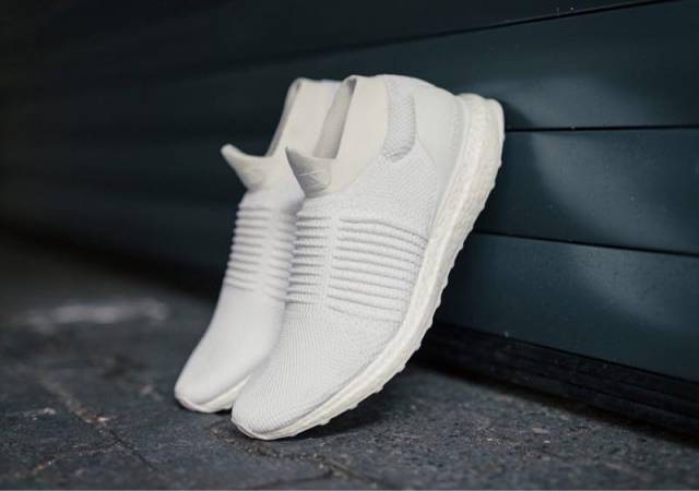 Adidas Ultra Boost Laceless Pk Mid Triple White 8 8 5us Kixify