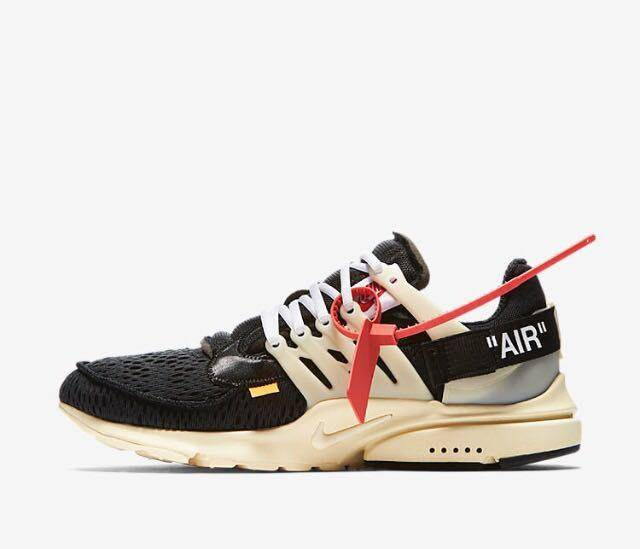 huge selection of 789f1 2a486 Off-white X Nike Air Presto