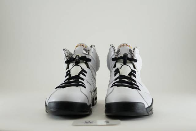 669904f05777 AIR JORDAN 6 RETRO PREMIUM MOTORSPORT SZ8.5 White 395866-101 ...