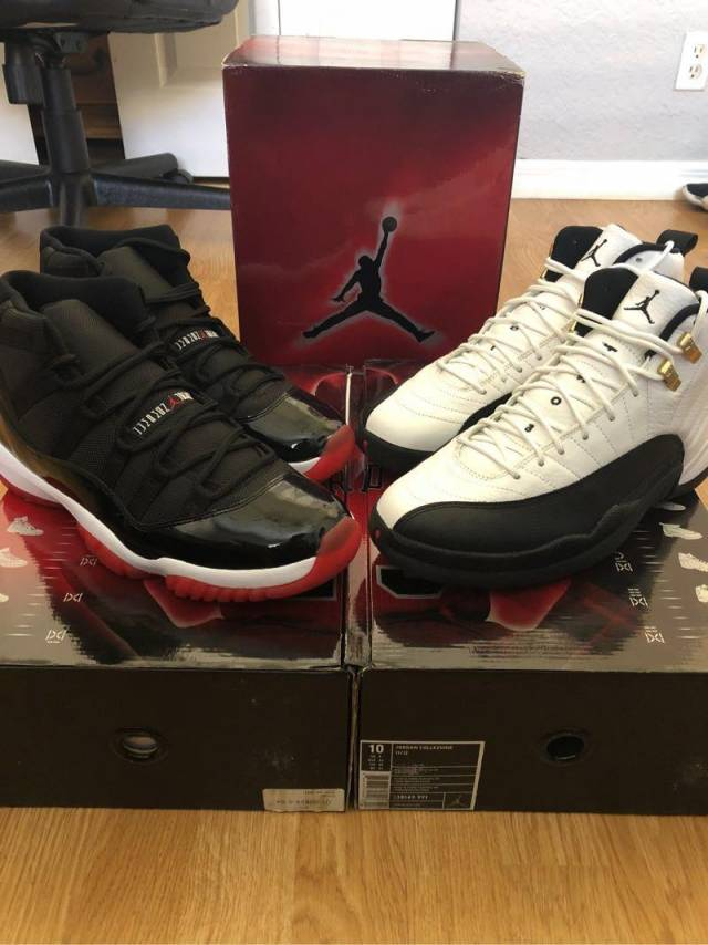 quality design 66640 b5370 Air Jordan 11 12 countdown pack size 10