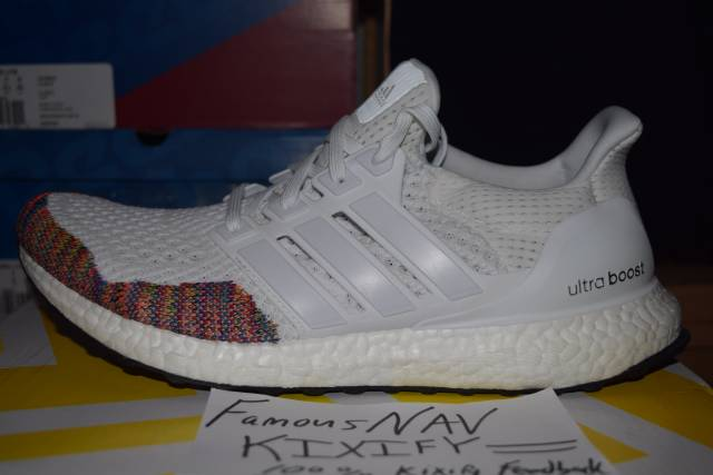 pretty nice bed02 be0a6 Adidas Ultra Boost Multicolor Rainbow toe 1.0