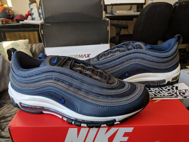 nike air max 97 navy blue
