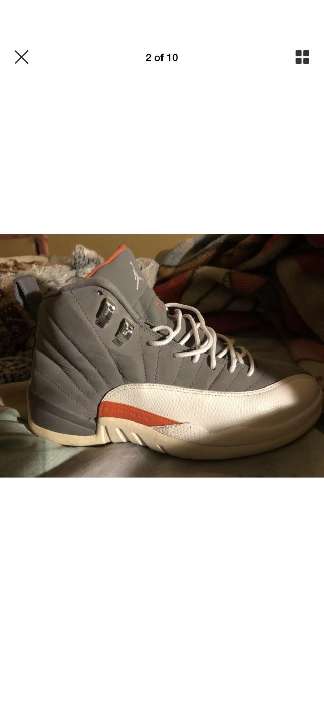 97273a4435cf Air Jordan 12 Cool Grey