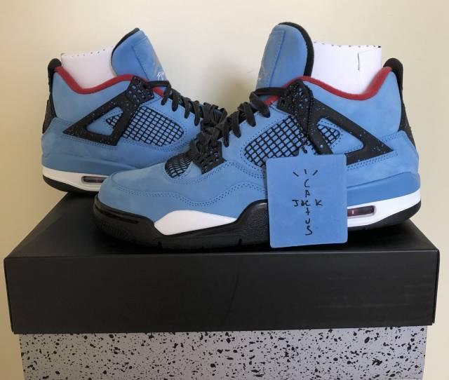 sports shoes f33fc 412c8 Travis Scott X Air Jordan 4 Cactus Jack Houston Oilers