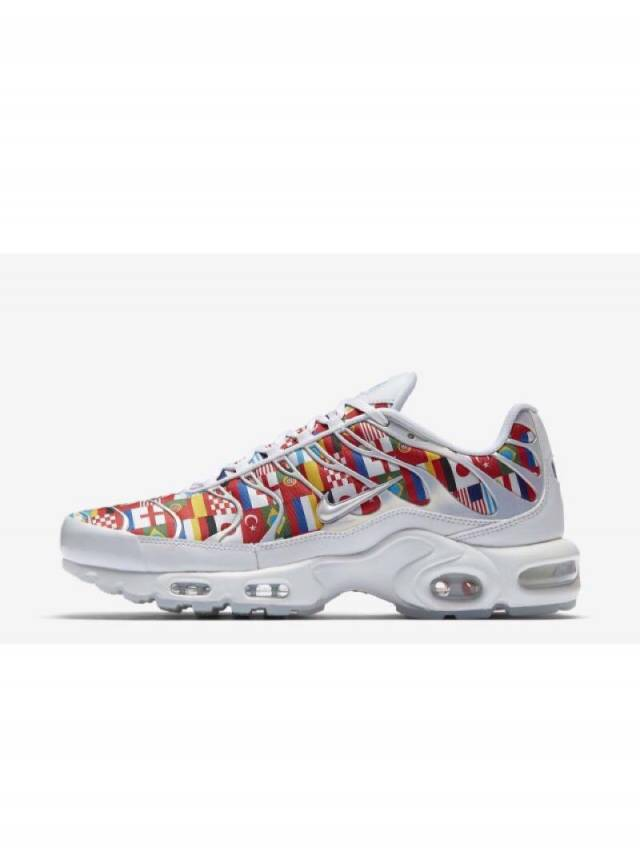 65a77e6fc5b5 Nike Air Max Plus One World FIFA 2018 w Receipt Size 4-15