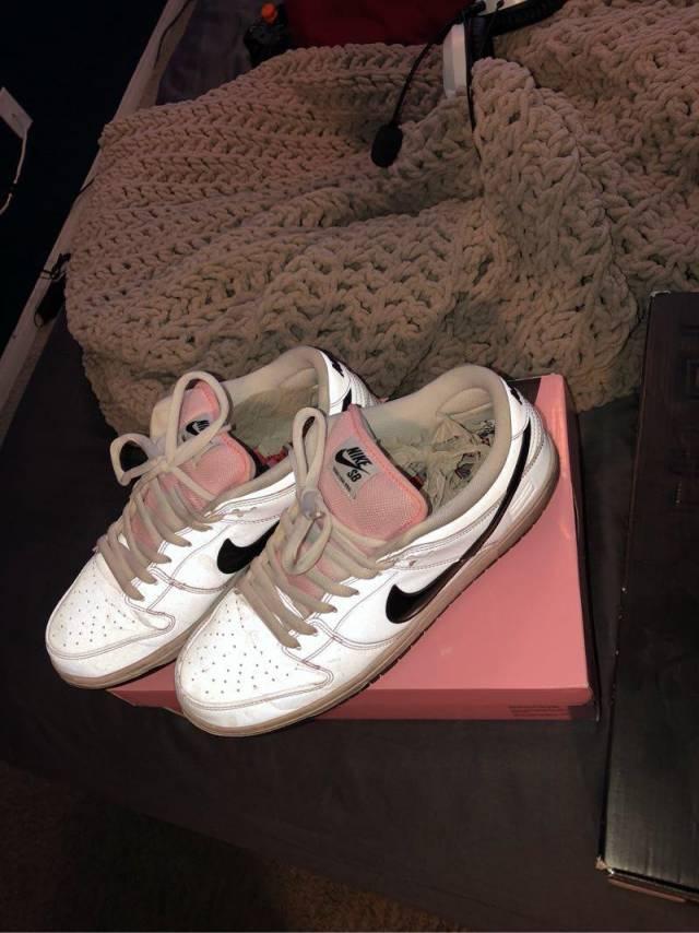 Nike SB Dunk Low Pink Box  0965d7329102
