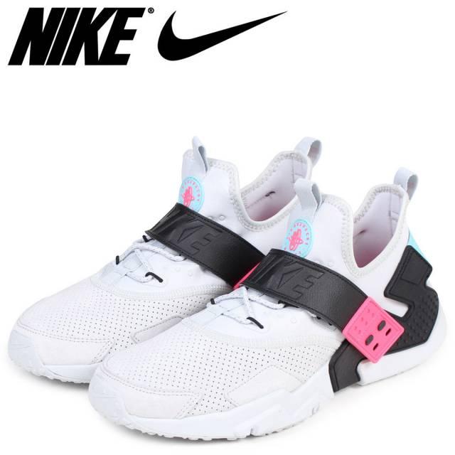 3c632c236d2a Nike Air Huarache Drift Premium Pure Platinum Black Racer Pink AH7335-003  Mult