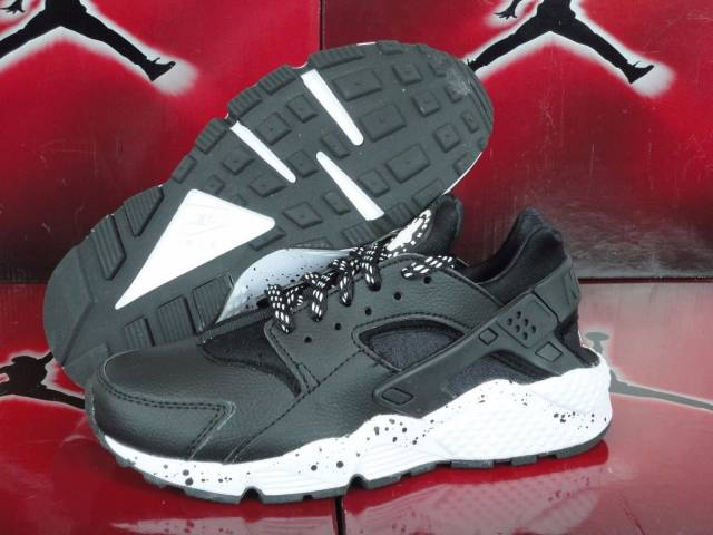 new concept fd9a8 d23df ... discount nike id air huarache run prm sz 6 womens black gray white  nikeid eb294 91609