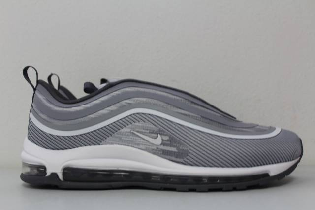 Nike Air Max 97 Ultra '17 Wolf Grey White Silver Bullet 918356 007