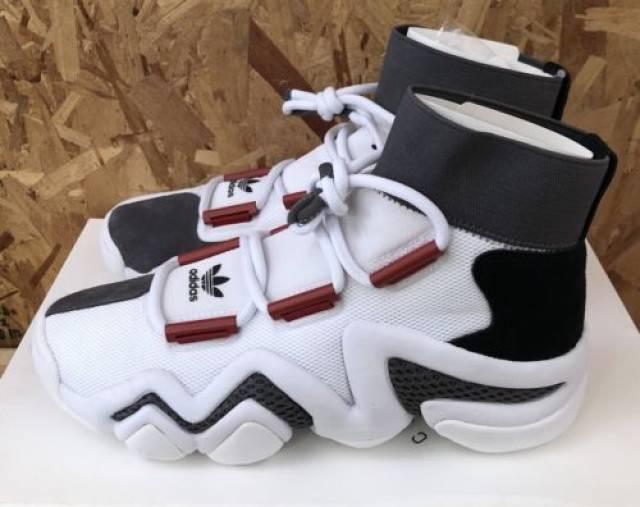 best website 5f23f 03408 Adidas Crazy 8 AD White Red Black Sz 11 NIB AC7737