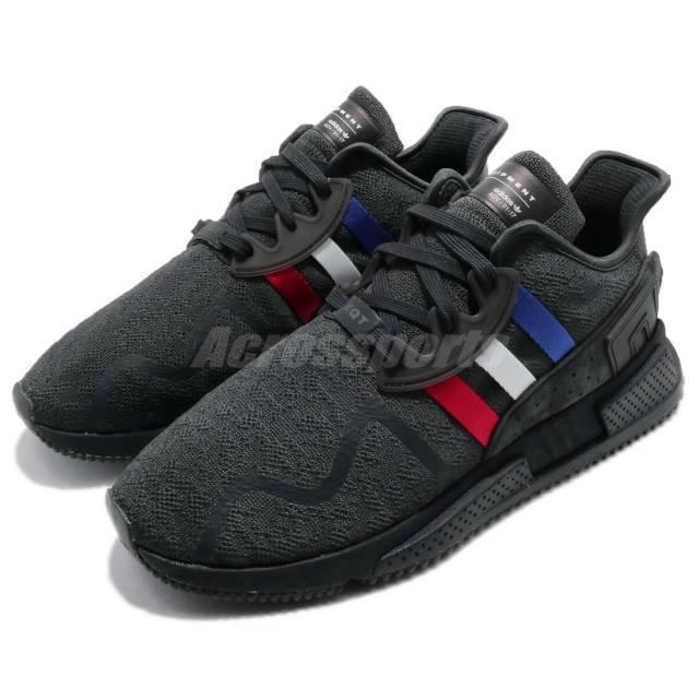 ee34460b3768 adidas Originals EQT Cushion ADV Tri-Color Black Men Running Sneakers CQ2378