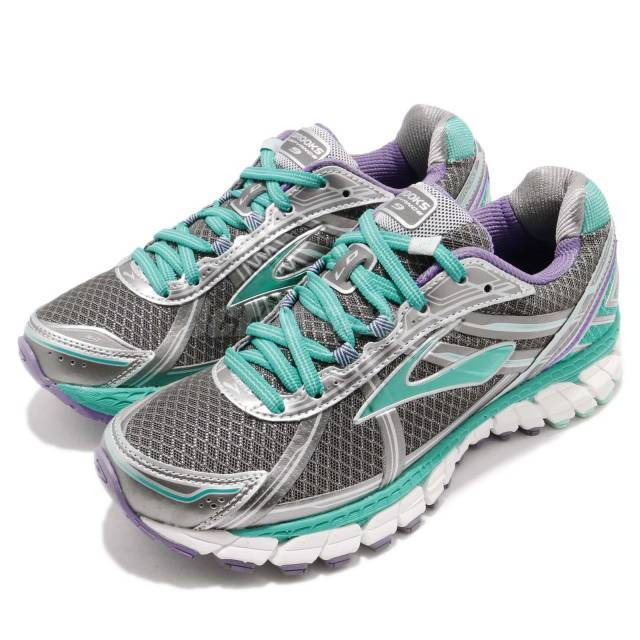 68438a3d4b8 Brooks Defyance 9 Anthracite Green Purple Women Running Shoes Sneakers  120205 1B