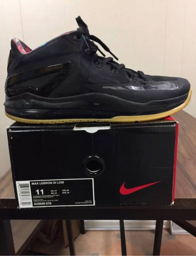 Nike Lebron 11 Low - Black Gum  a77543afa442