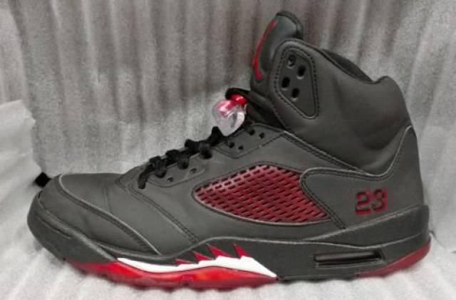 f63d6e0cf4e Nike Air Jordan 5 Retro Raging Bull 3M Red Sz 10.5 (136027-061) Customs