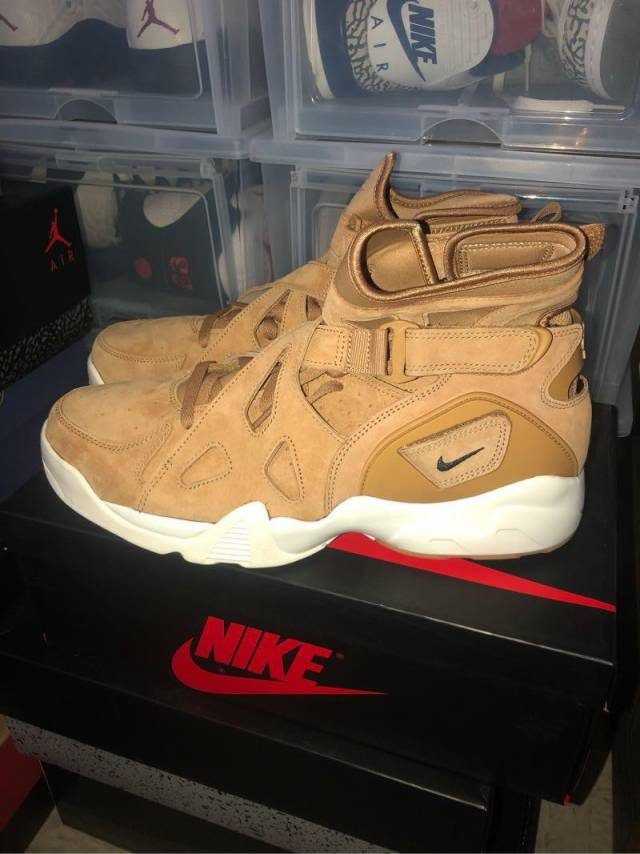 buy online fb7aa ad42c Nike Air Unlimited Wheat