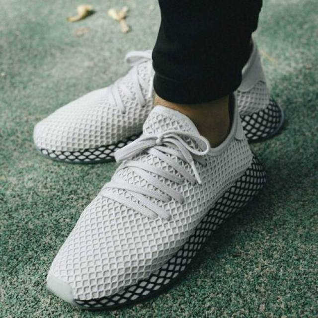 Adidas Deerupt Runner Sneaker Grey One